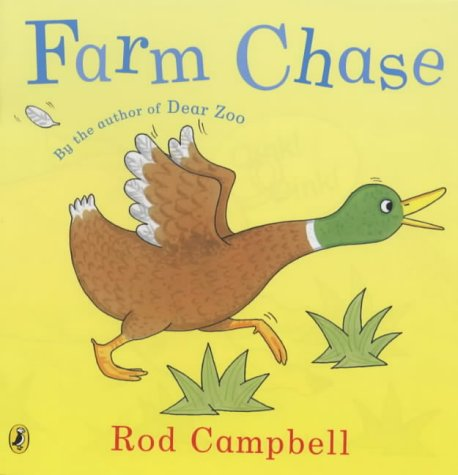 9780140568981: Farm Chase Lift The Flap (Picture Puffin)