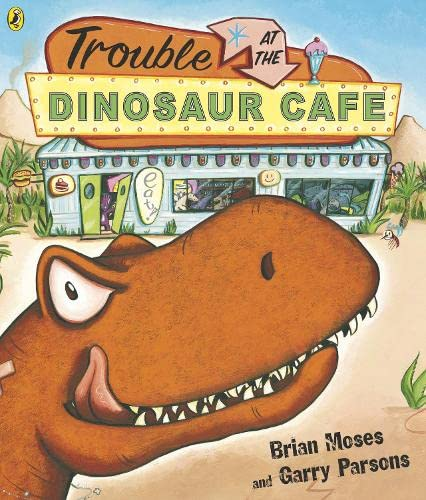 9780140569940: Trouble At the Dinosaur Cafe