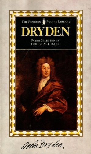 9780140585032: Dryden: Poems And Prose (Poetry Library)