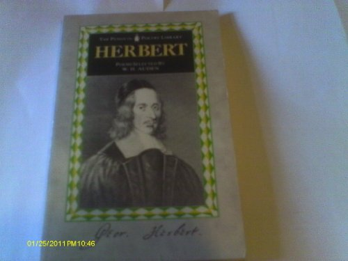 9780140585209: Herbert Poems and Prose (Poetry Library)