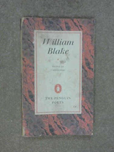 Blake: Poems and Letter (Penguin Poetry Library): William Blake