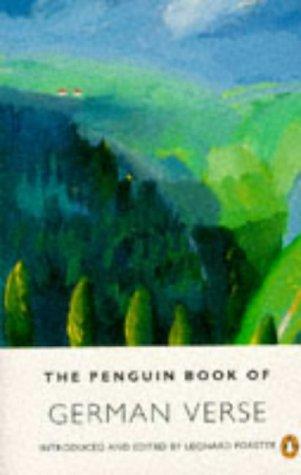 9780140585469: The Penguin Book of German Verse (German Edition)