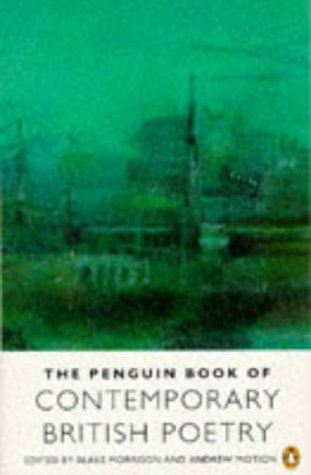 9780140585520: Penguin Book of Contemporary British Poetry (Penguin Poets)