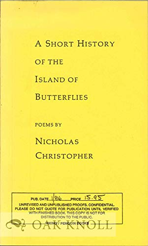 9780140585544: A Short History of the Island of Butterflies