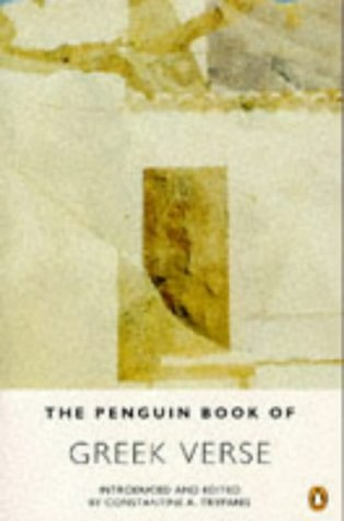 9780140585957: The Penguin Book of Greek Verse: Dual Language Edition (Greek Edition)