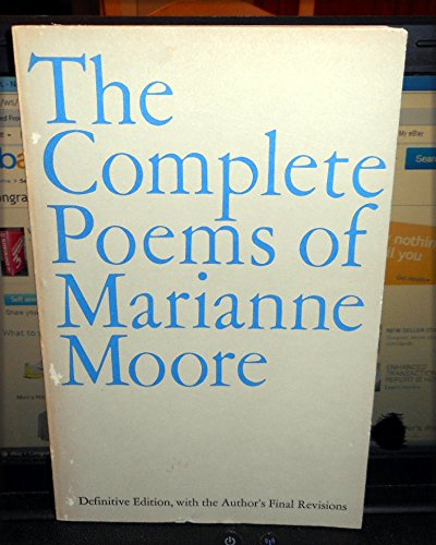9780140586015: Moore Marianne : Complete Poems of Marianne Moore
