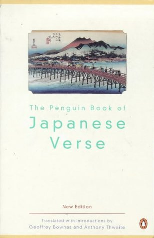 9780140587890: The Penguin Book of Japanese Verse (UNESCO collection of representative works: Japanese series)