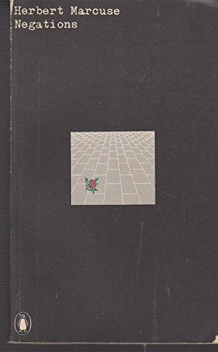 9780140600087: Negations: Essays in Critical Theory (Penguin University books)