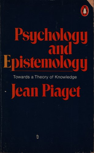 9780140600117: Psychology and Epistemology (Penguin university books)