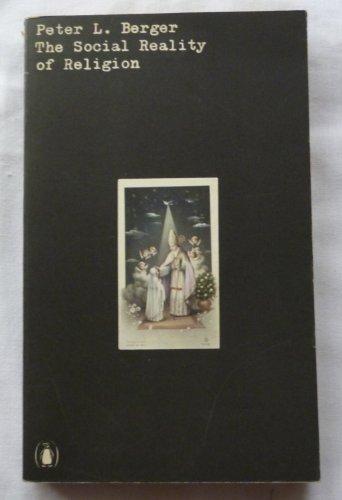 9780140600261: 'SOCIAL REALITY OF RELIGION, THE (UNIVERSITY BOOKS)'