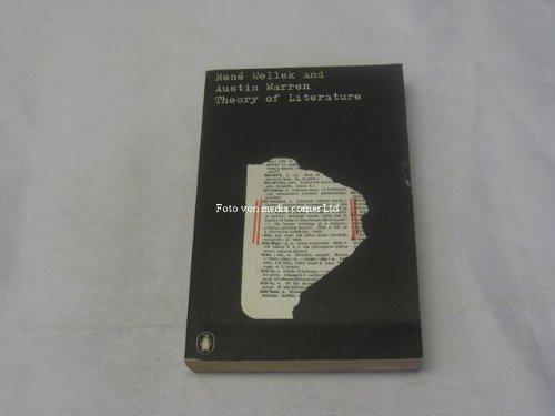 9780140600278: Theory of literature (Penguin university books)