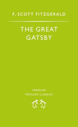 9780140620184: The Great Gatsby (Penguin Popular Classics)