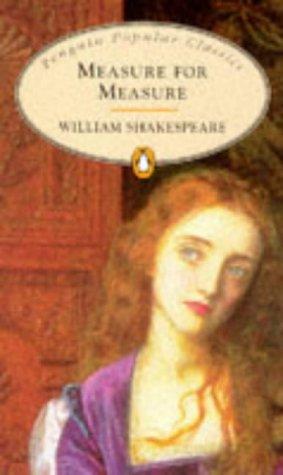 9780140622560: Measure for Measure (Penguin Popular Classics)