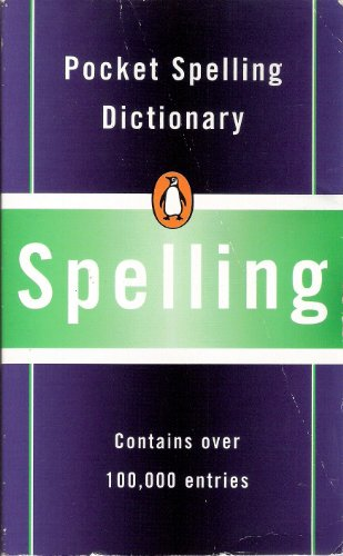 9780140623086: Pocket Spelling Dictionary (Penguin Popular Reference)