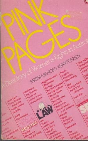 9780140700671: Pink Pages: A Directory of Women's Rights in Australia