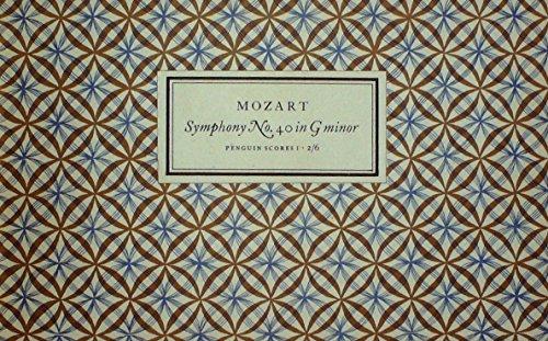 9780140709018: Mozart : Symphony No. 40 (Penguin music scores)