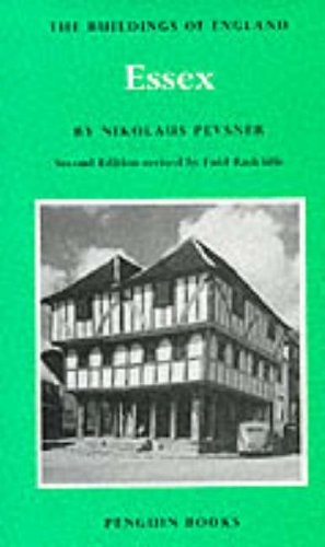 9780140710113: Essex (The Buildings of England)
