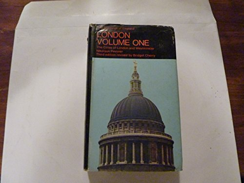 9780140710120: London I: The Cities of London And Westminster: Cities of Westminster and London v. 1 (The Buildings of England)