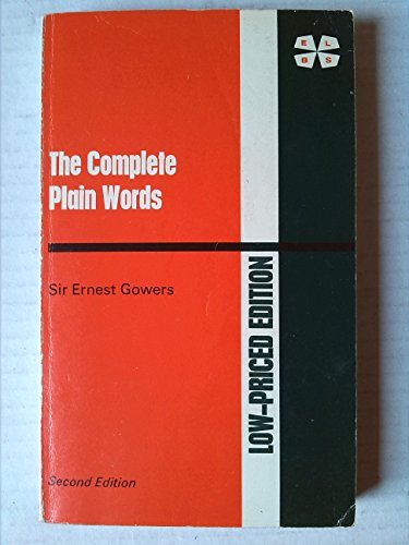 9780140711011: The Complete Plain Words (2nd edition)
