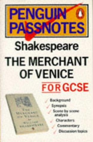 9780140770193: Penguin Passnotes: The Merchant of Venice For Gcse