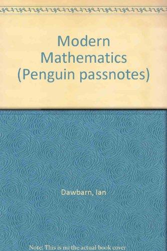 9780140770339: Modern Mathematics (Penguin passnotes)
