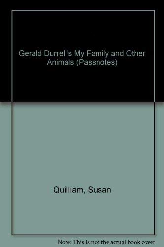 9780140770353: Penguin Passnotes: My Family And Other Animals (Passnotes S.)