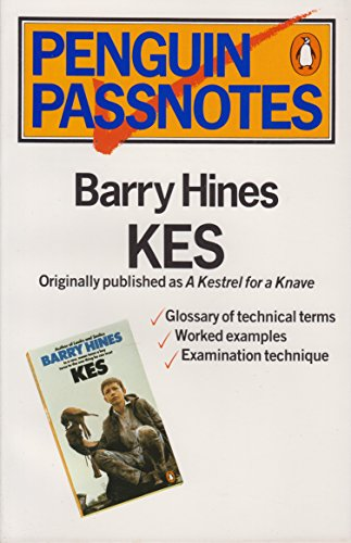 "Hines ""Kestrel for a Knave"" (Passnotes): Quilliam, Susan"