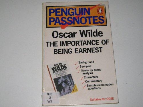 9780140770667: Penguin Passnotes on Oscar Wilde's