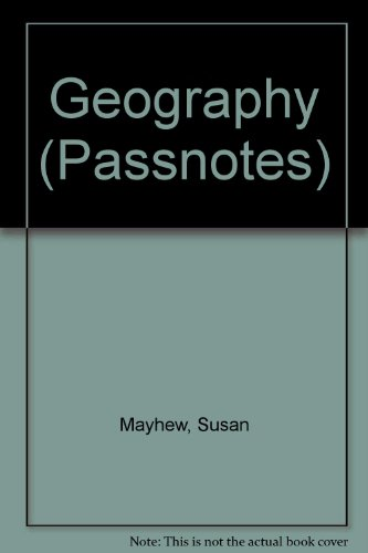 9780140770735: Geography (Passnotes)