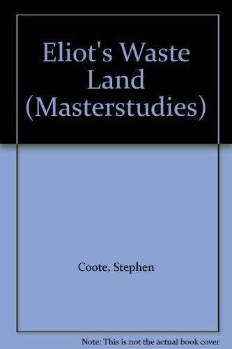 9780140771053: Waste Land (Masterstudies)