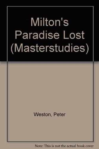 """9780140771213: Milton's """"Paradise Lost"""" (Masterstudies)"""