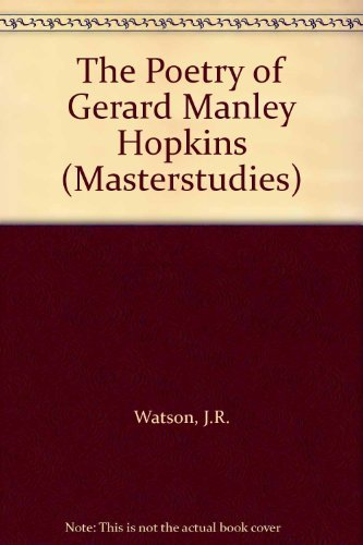 9780140771237: The Poetry of Gerard Manley Hopkins (Masterstudies)