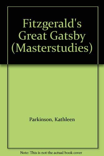 9780140771275: Great Gatsby,The (Masterstudies)
