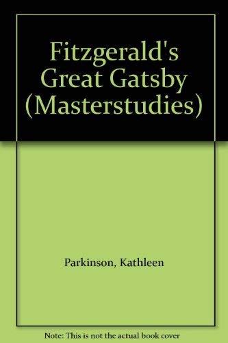 "9780140771275: Fitzgerald's ""Great Gatsby"" (Masterstudies)"