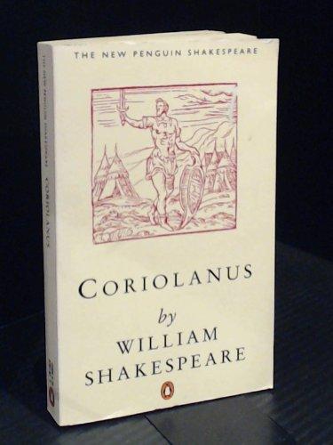 9780140771411: Coriolanus (The New Penguin Shakespeare)