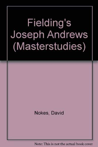 9780140771534: Joseph Andrews (Masterstudies)