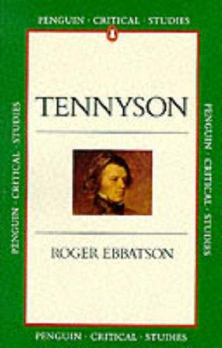 9780140771725: Tennyson (Critical Studies)