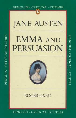 """9780140771886: Austen's """"Emma"""" and """"Persuasion"""" (Critical Studies)"""