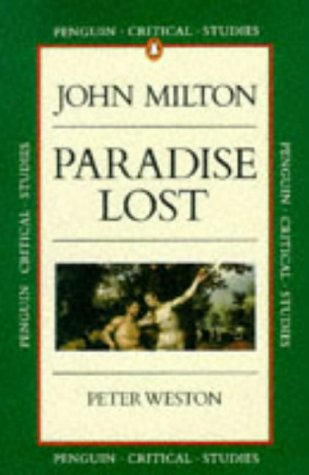 9780140771954: Paradise Lost (Critical Studies, Penguin)