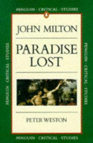 9780140771954: Paradise Lost (Critical Studies, Penguin)