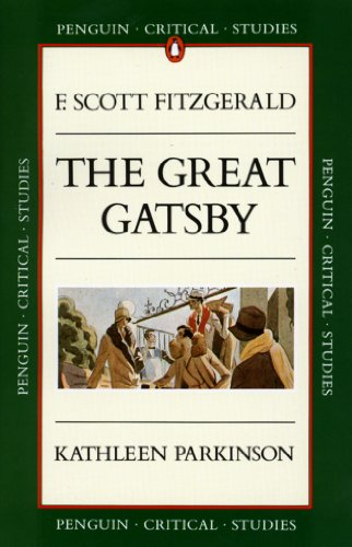 9780140771978: Critical Studies: The Great Gatsby (Penguin Critical Studies)