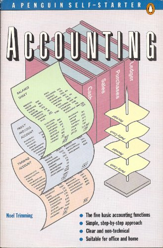 9780140772234: Accounting: A Penguin Self-Starter