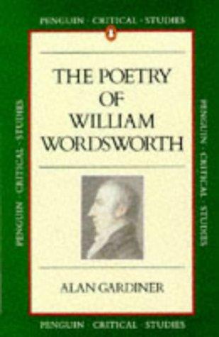 9780140772333: Wordsworth: Poetry (Critical Studies, Penguin)