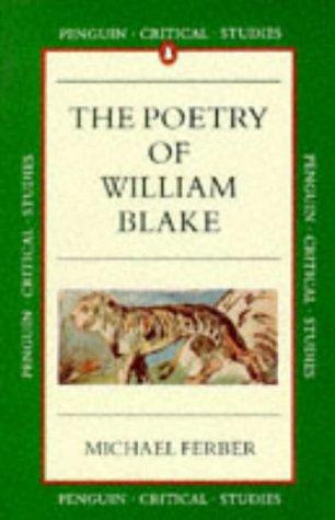 9780140772500: Blake: Poetry (Critical Studies, Penguin)