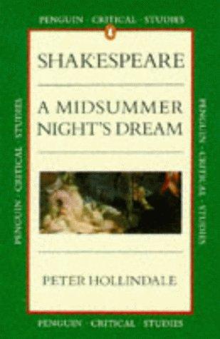 9780140772616: A Midsummer Night's Dream (Critical Studies, Penguin)