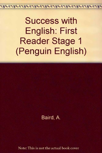 9780140800081: Success with English (Stage 1) a First Reader (Penguin English)