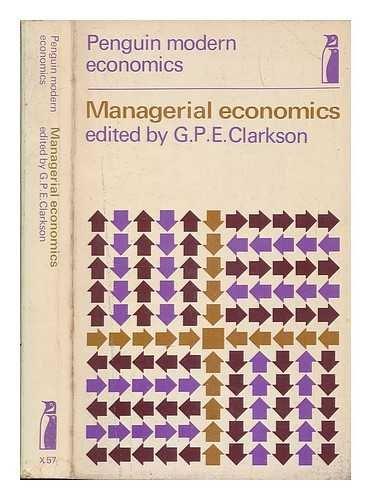 9780140800579: Managerial Economics (Modern Economics)
