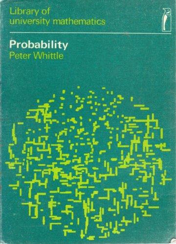 9780140800852: Probability (Library of University Mathematics)