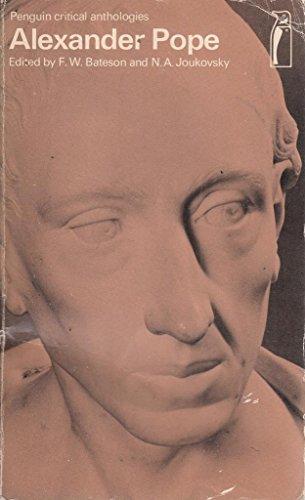 9780140801033: Alexander Pope (Critical Anthology)