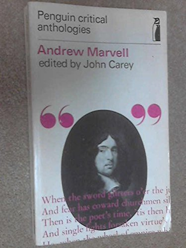 9780140801231: Andrew Marvell: A Critical Anthology (Penguin critical anthologies)